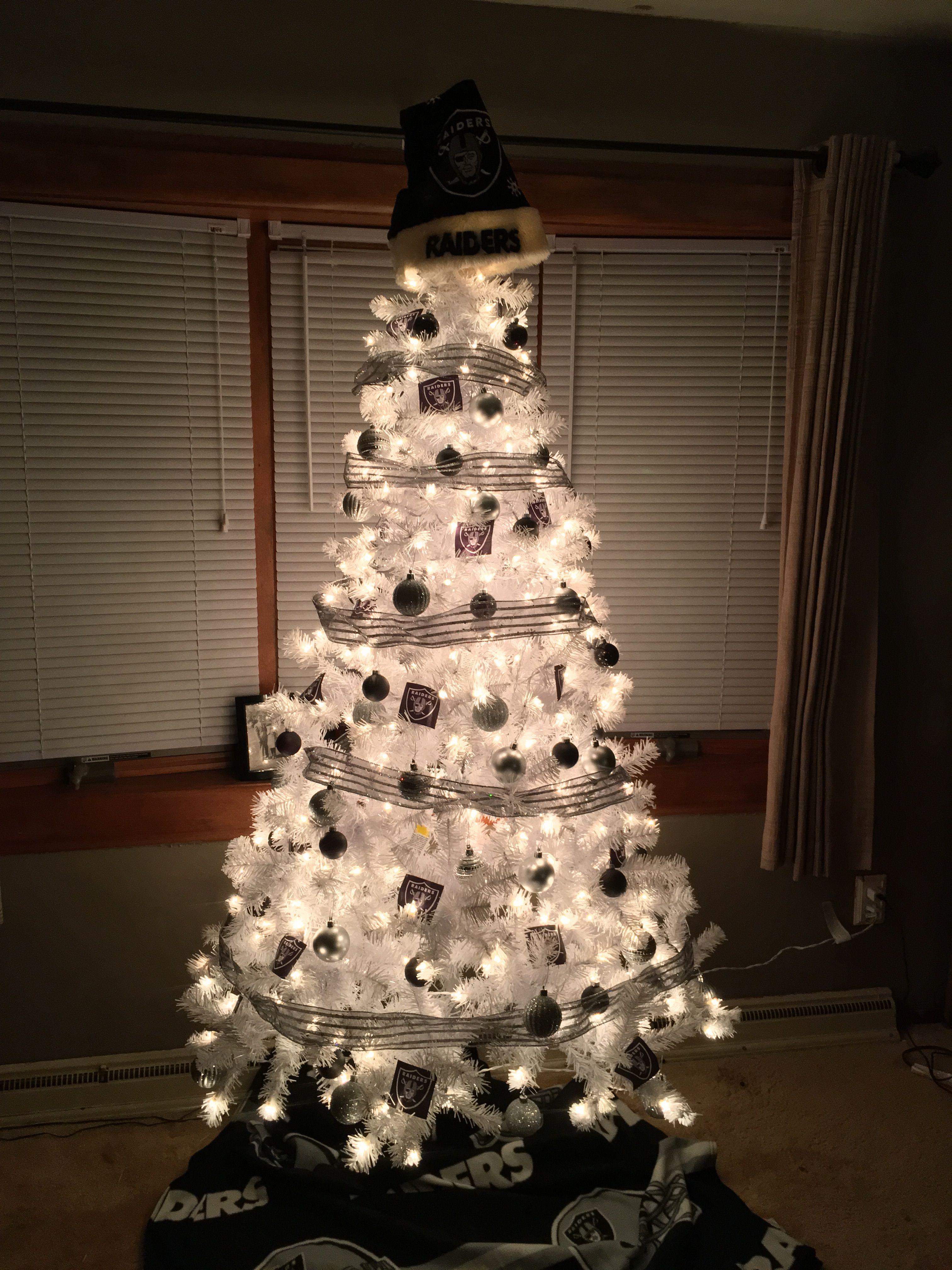 My Oakland Raiders Christmas tree. | /OAKLAND ☠ RAIDERS ...
