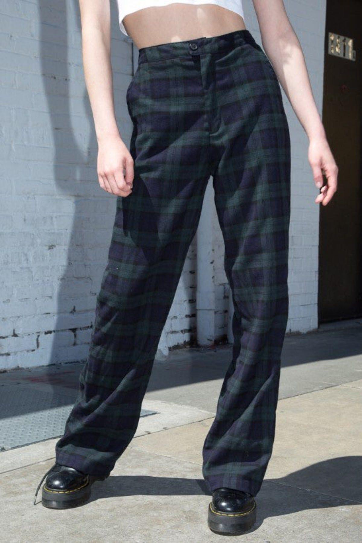 Brandy Melville Plaid Pants Plaid Pants Tartan Pants Pants