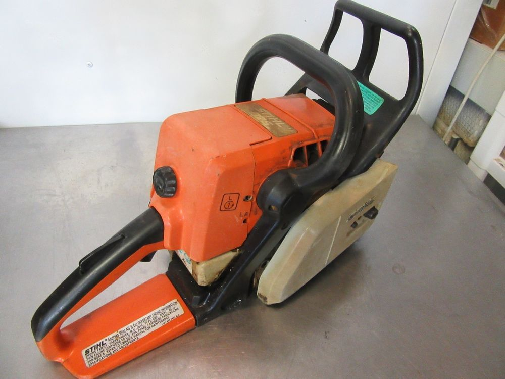 Stihl 026 Power Head Saw Complete Saw Running Sold For Parts