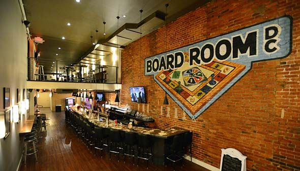 I Ll See Your Board Game Cafe And Raise You A Bar Board Game Cafe Game Cafe Board Game Room