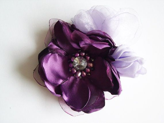 Bridal Fascinator  Purple Bridal Fascinator  by ModernBridal, $49.95