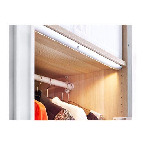 striberg led ljuslist ikea closets storage pinterest. Black Bedroom Furniture Sets. Home Design Ideas