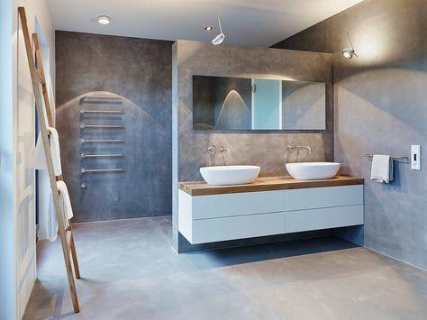 Ein fugenloses Bad gibt Ihre Wohnung den letzten Schliff! – Haus Dekoration Mehr  – leben + wohnen