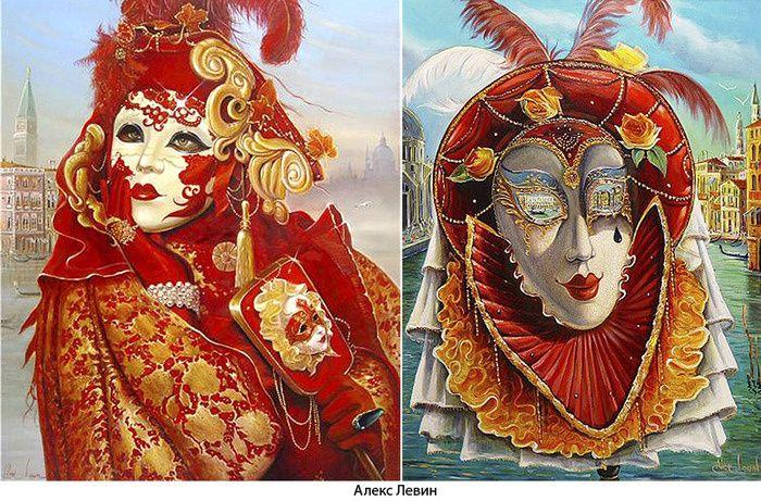 33Венецианская маска своими руками фото