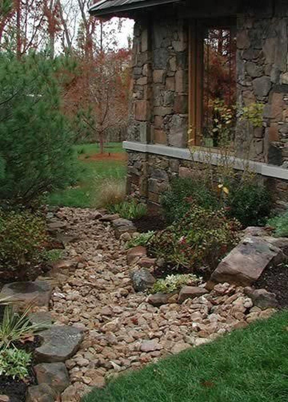 Awesome River Rock Landscaping Ideas 12 Riverrocklandscaping Awesome River Rock Landscaping In 2020 Landschaftsbau Mit Steinen Garten Landschaftsbau Landschaftsdesign