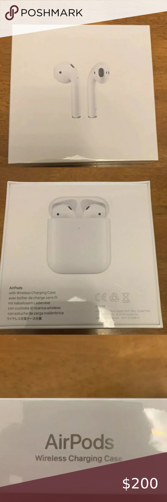Apple Airpods 2nd Generation New Sealed Never Been Used Not The Airpods 2 The Second Gen Airpods With Wireless Charging C Apple Airpods 2 Apple Generation