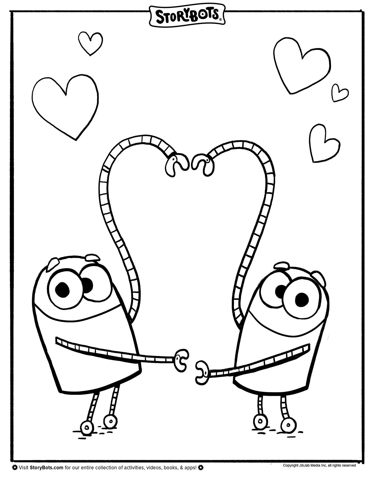 Valentine S Day Coloring Sheet