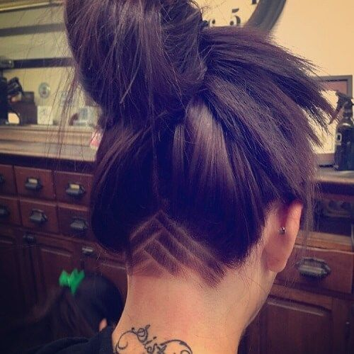 60 Chic Edgy Undercut Design Ideen Hair Styles Hair Undercut