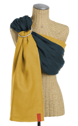 Essential Linen Baby Sling :: Twilight~Wheat