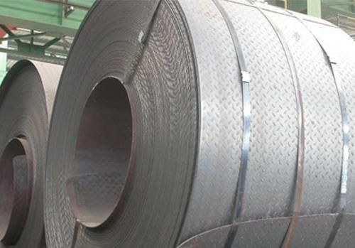 Hot Rolled Chequered Steelcoils Steel Steel Sheet Metal