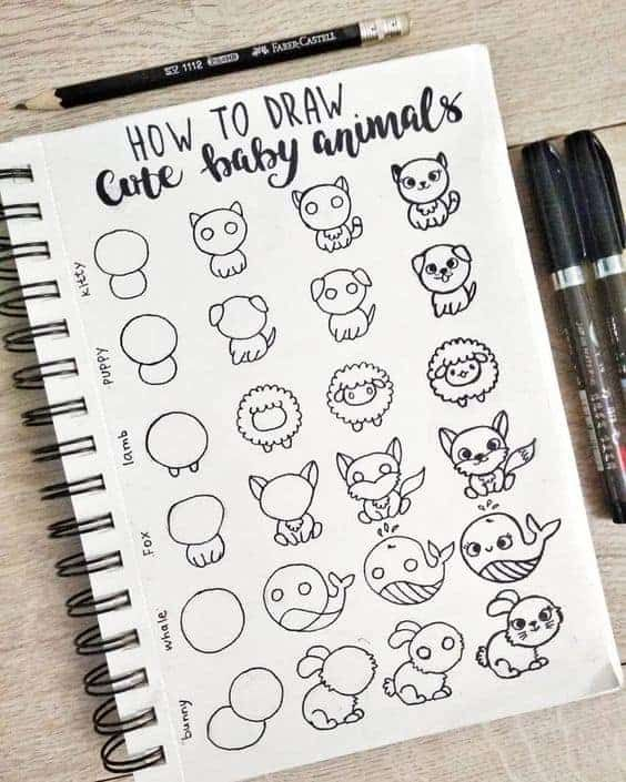 Photo of 22 Incredibly Simple Bullet Journal Doodle Tutorials For Beginners