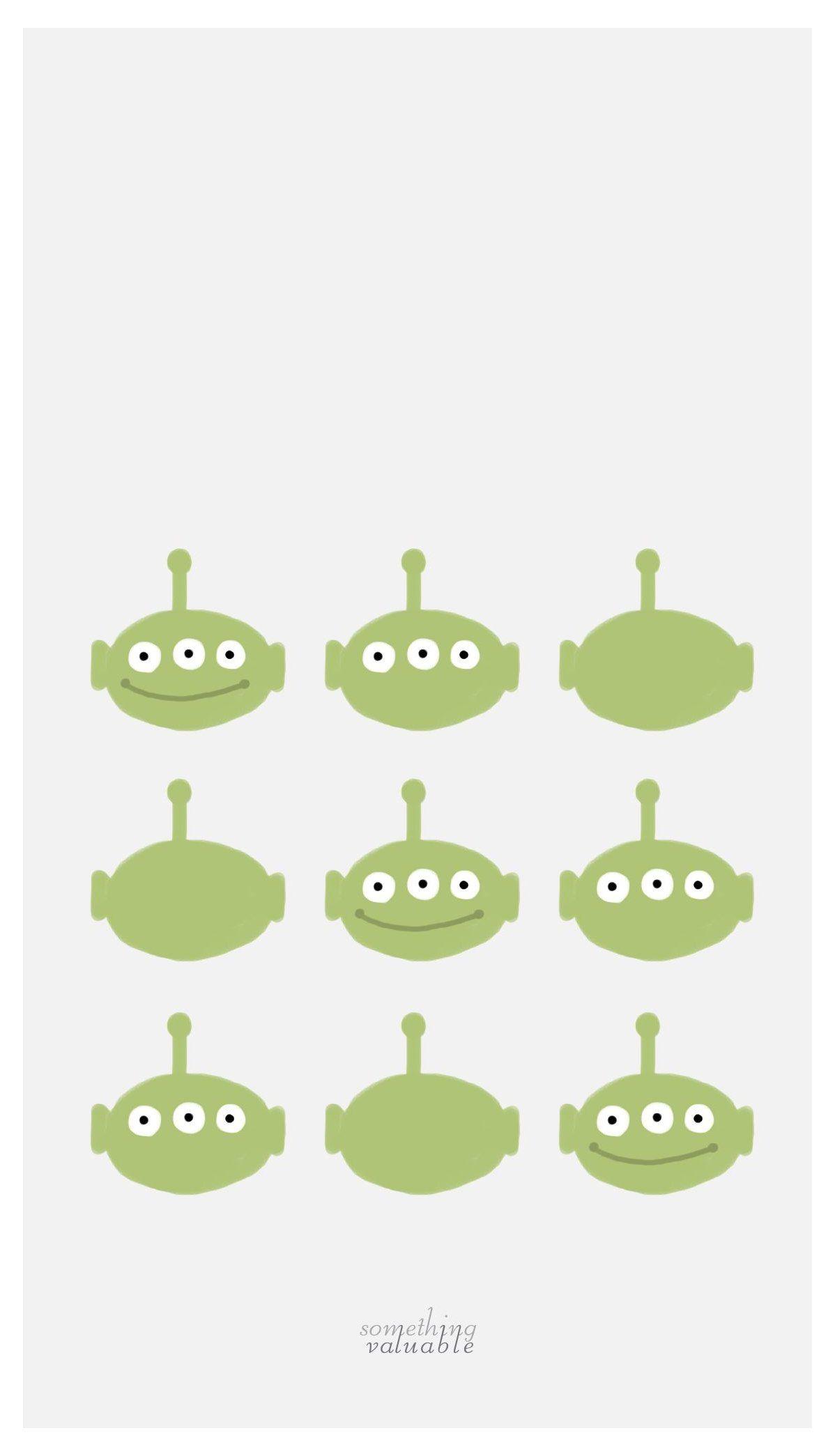 alien toy story wallpaper