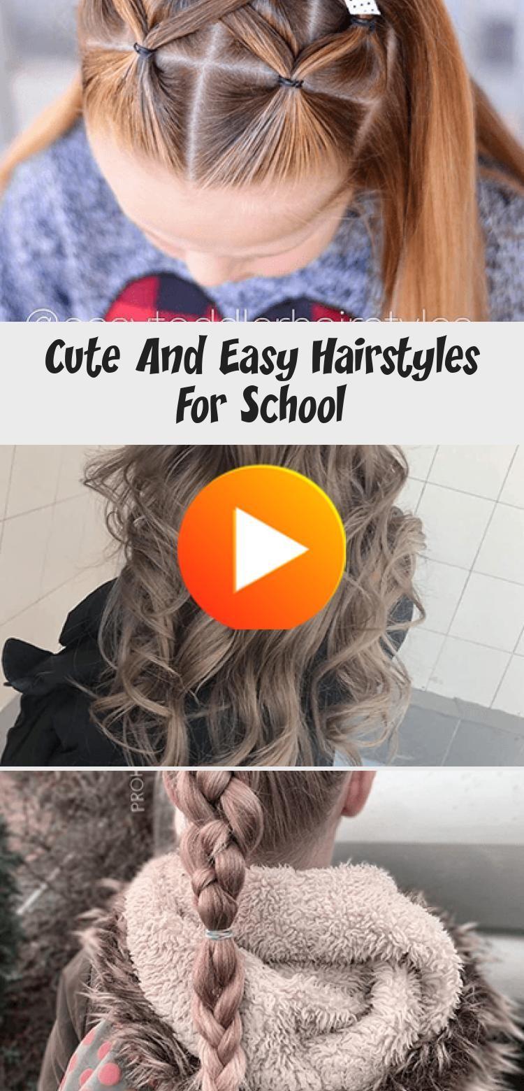 Nette Und Einfache Frisuren Fur Schule Frisur Nette Und Einfache Frisuren Fur Schule Q In 2020 Frisuren Fur Schule Schulfrisuren Haar Ideen Fur Die Schule