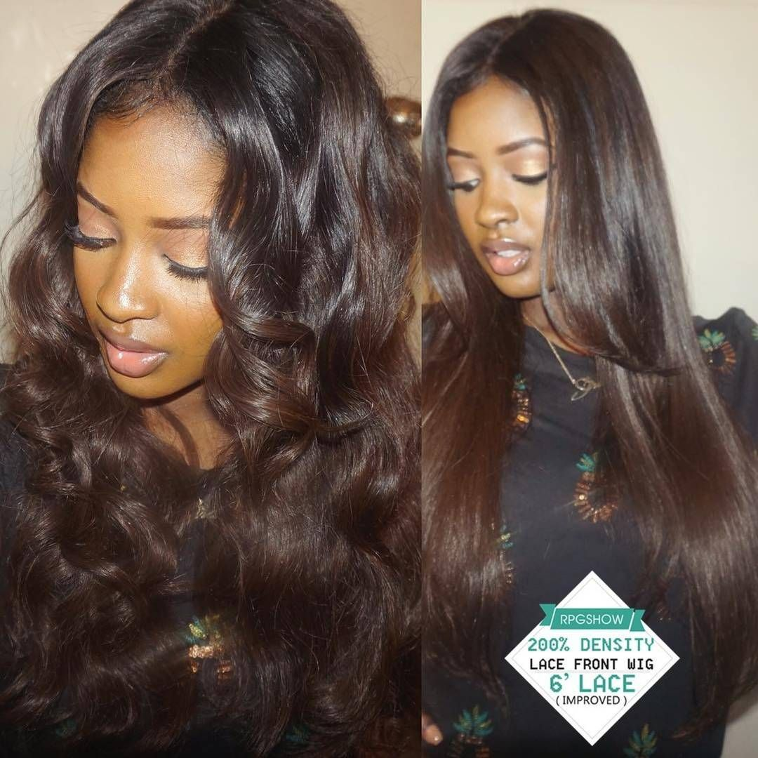 Rpgshowwigs Chocolate Brown Hair Lace Front Wig Things I
