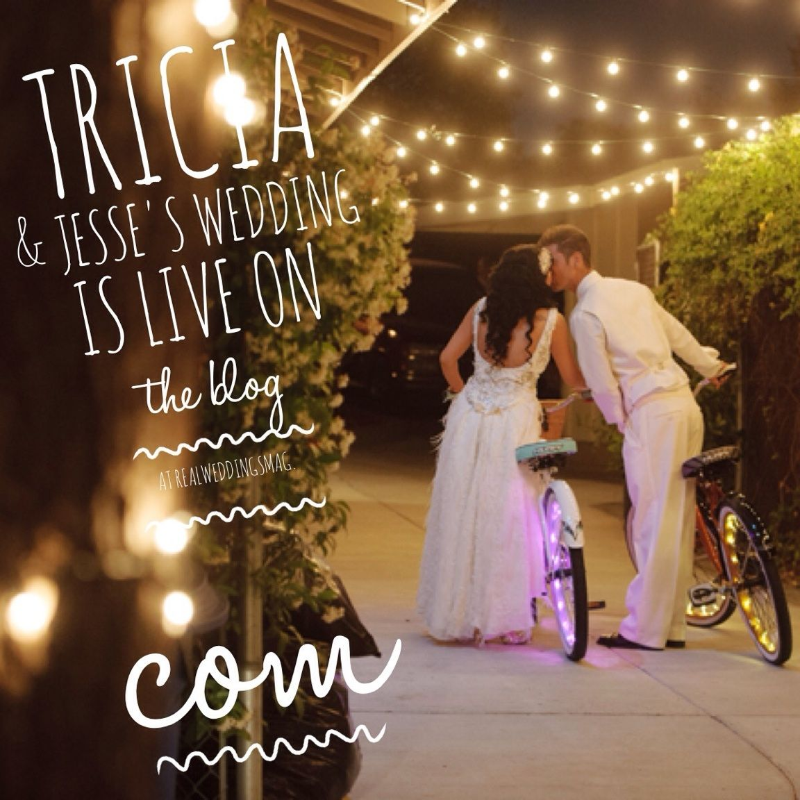Tricia & Jesse-Featured Real Wedding From The Winter