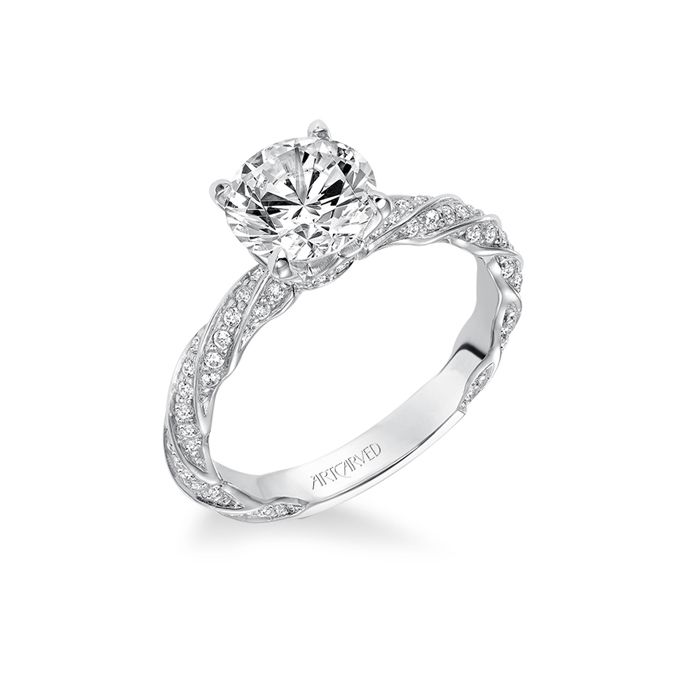 Art Carved Wedding Rings at Exclusive Wedding Decoration and