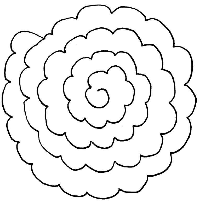 Patrones de flores de fieltro - Imagui   Patrones en 2018 ...