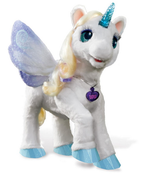 My Magical Unicorn Starlily From The Hasbro S Furreal Friends Line Is An Interactive Toy Designed For Kids Ages Fur Real Friends Unicorn Toys Christmas Toys