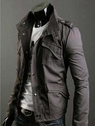 06c13e050 Men's jacket. | Men with Clothes | Mens military style jacket ...