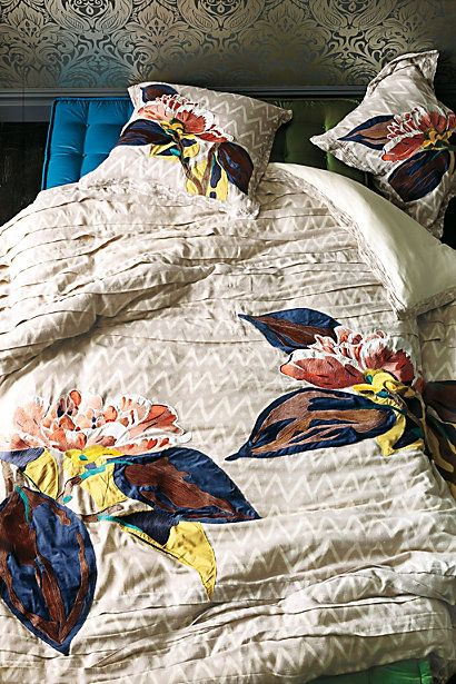Of course I'd fall in love with the $500 duvet cover...that's not going to happen...