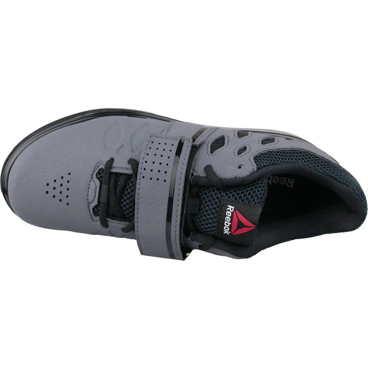 Buty Treningowe Reebok Lifter Pr M Bd2631 Szare Training Shoes Reebok Shoes