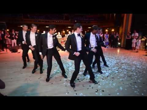 Bride Sent Into Frenzy By Y Groomsmen Dance Routine