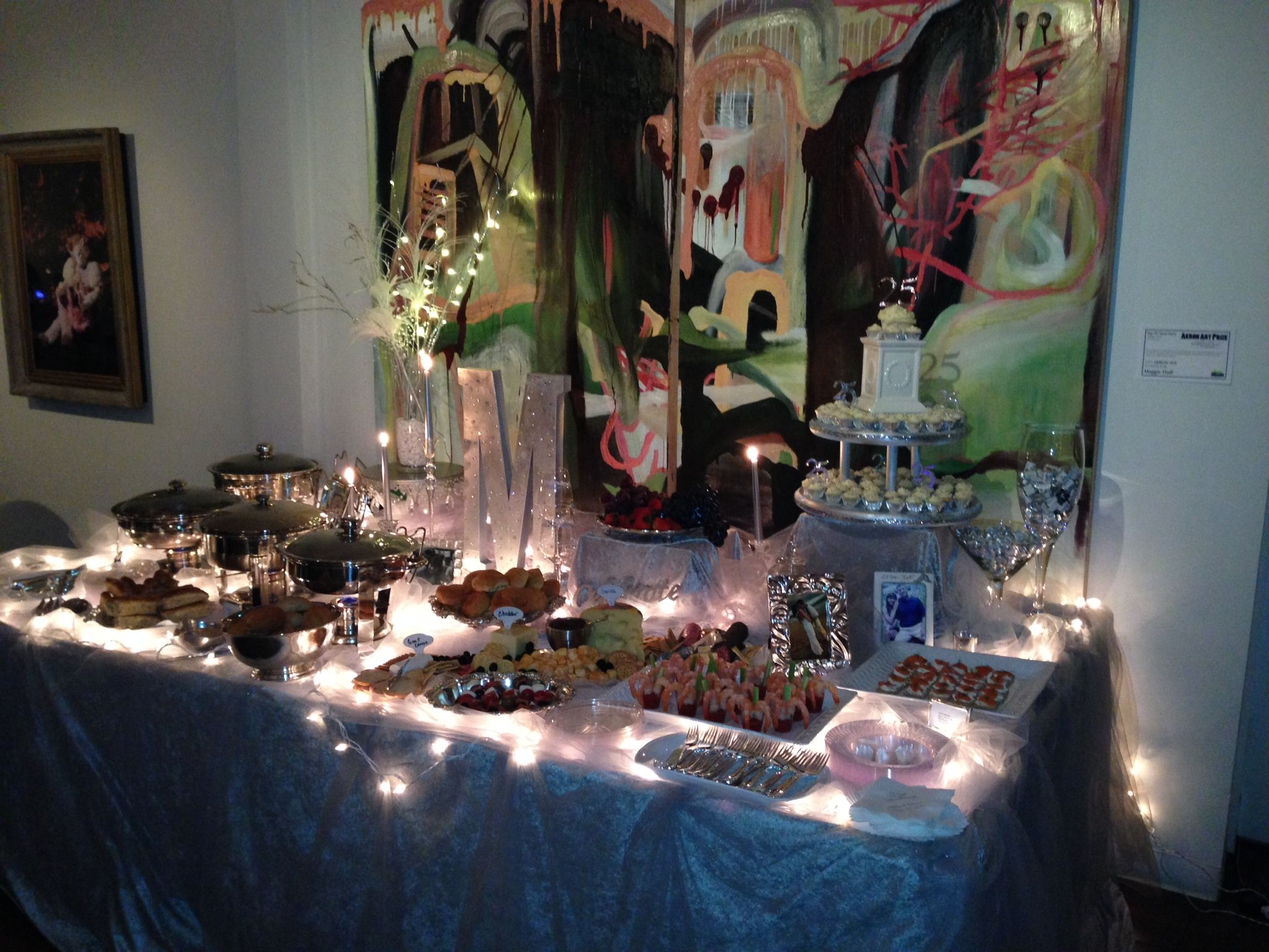 diy 25th anniversary party