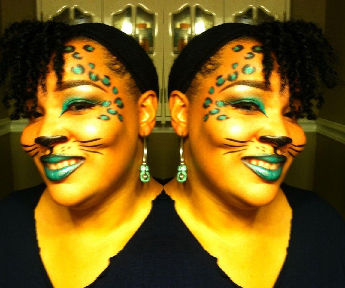Easy cute halloween makeup look gorgemakeup looks pinterest