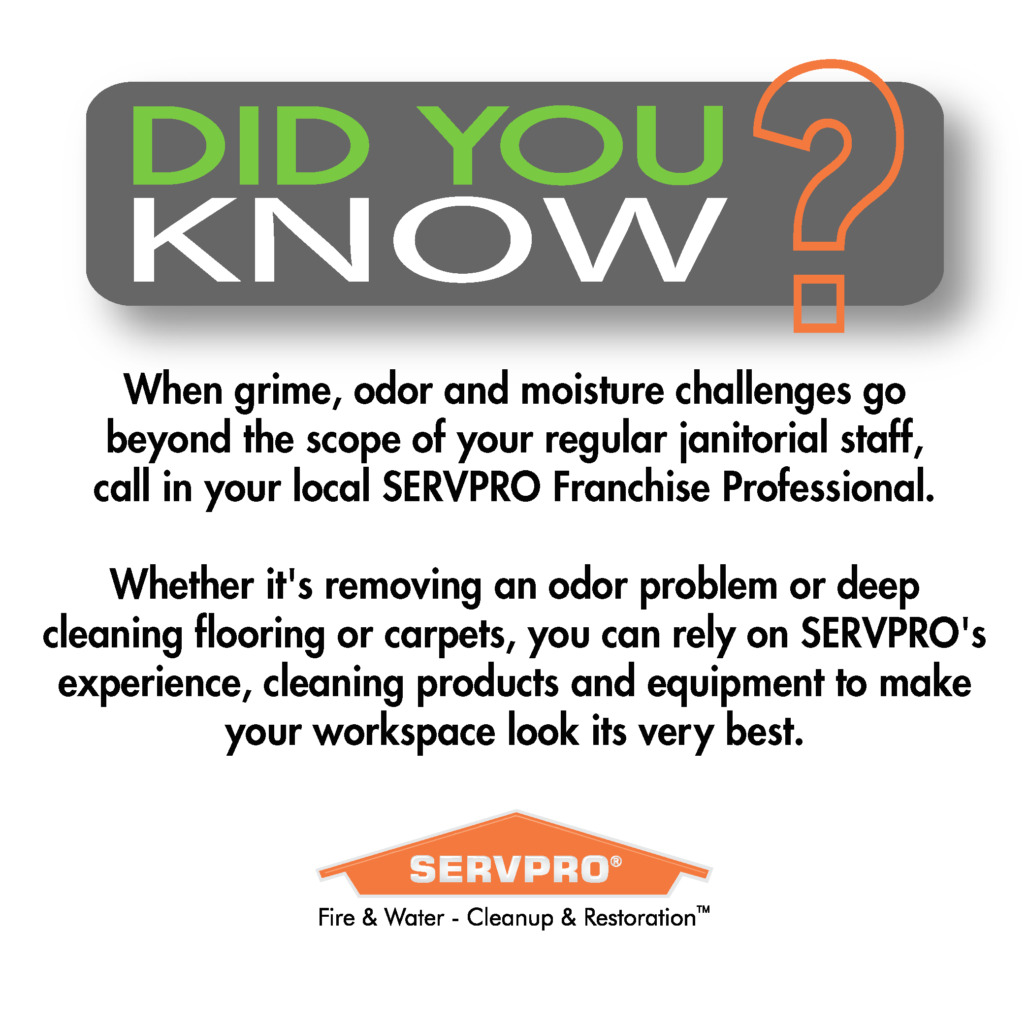 Pin by Servpro of Newtown & Southern Litchfield County on