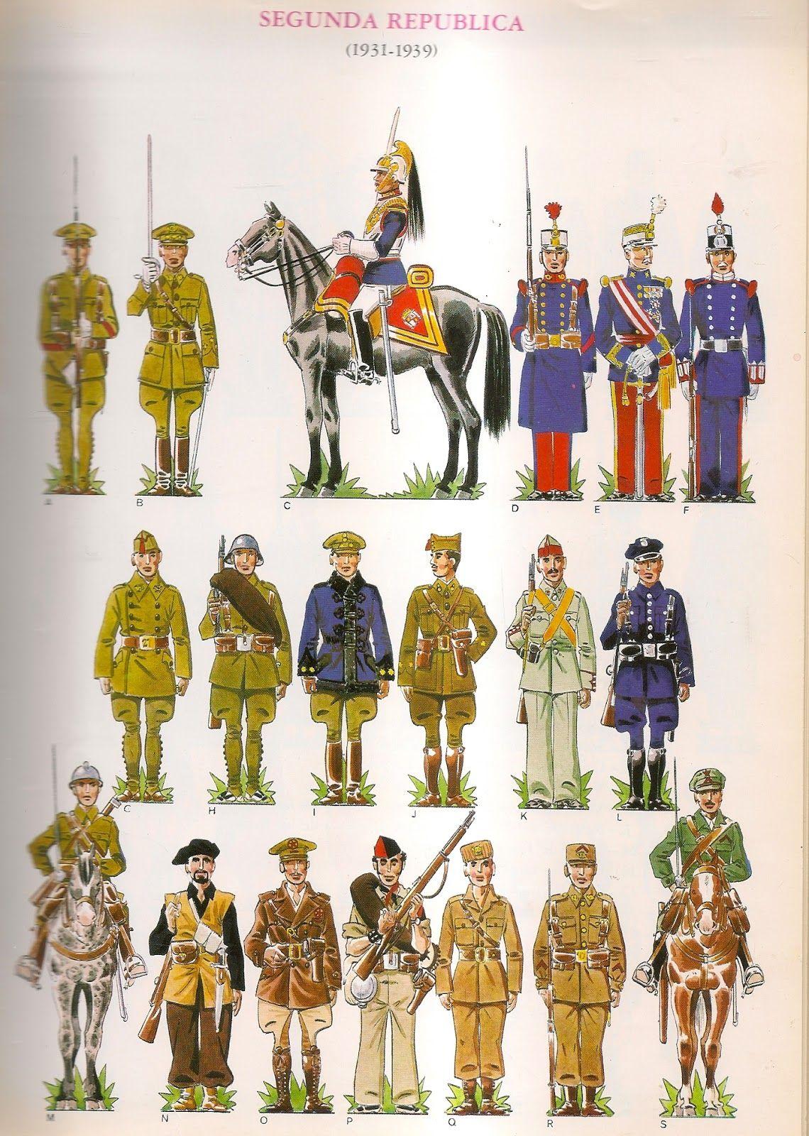 Pin de Eduardo Núñez en Uniformes militares de España   Pinterest ...