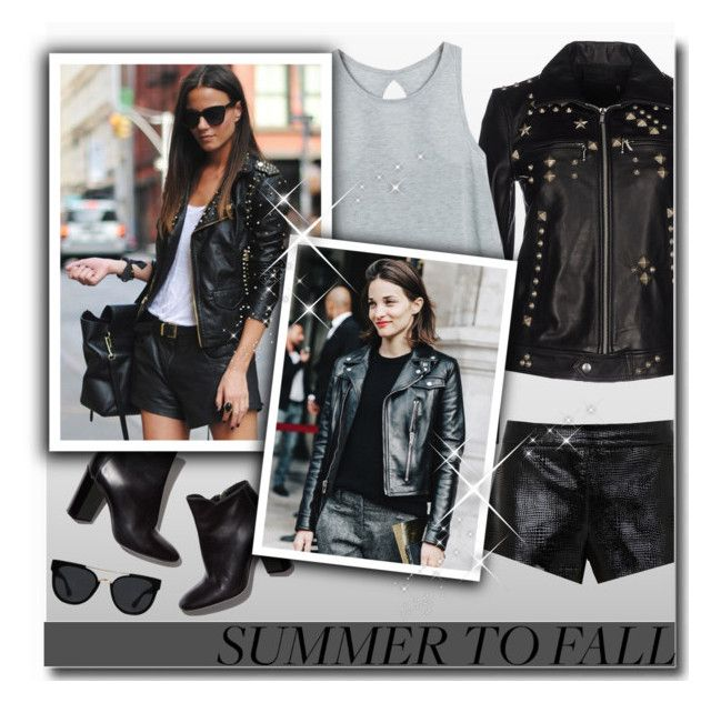 """""""Summer to Fall Layering"""" by matildiwinky ❤ liked on Polyvore featuring R13, Pierre Hardy, Mason by Michelle Mason and Quay"""
