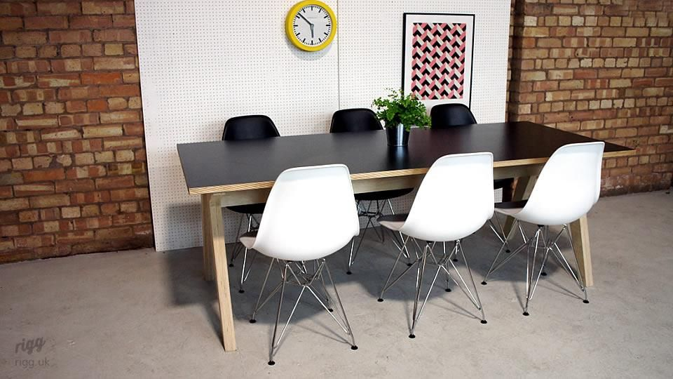 Synk Birch Plywood Dining Table Dining Table Table Plywood Table