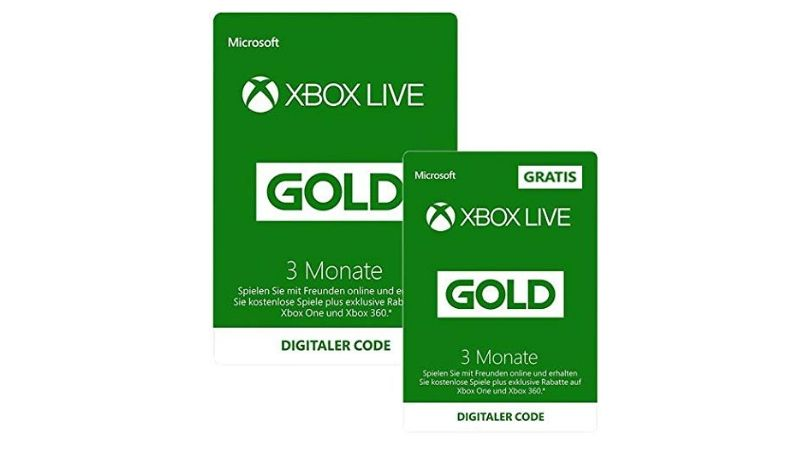 Tagesangebot Xbox Live Gold Mitgliedschaft 3 Monate 3 Monate Gratis Fur 19 99 3 Monate Monat Live