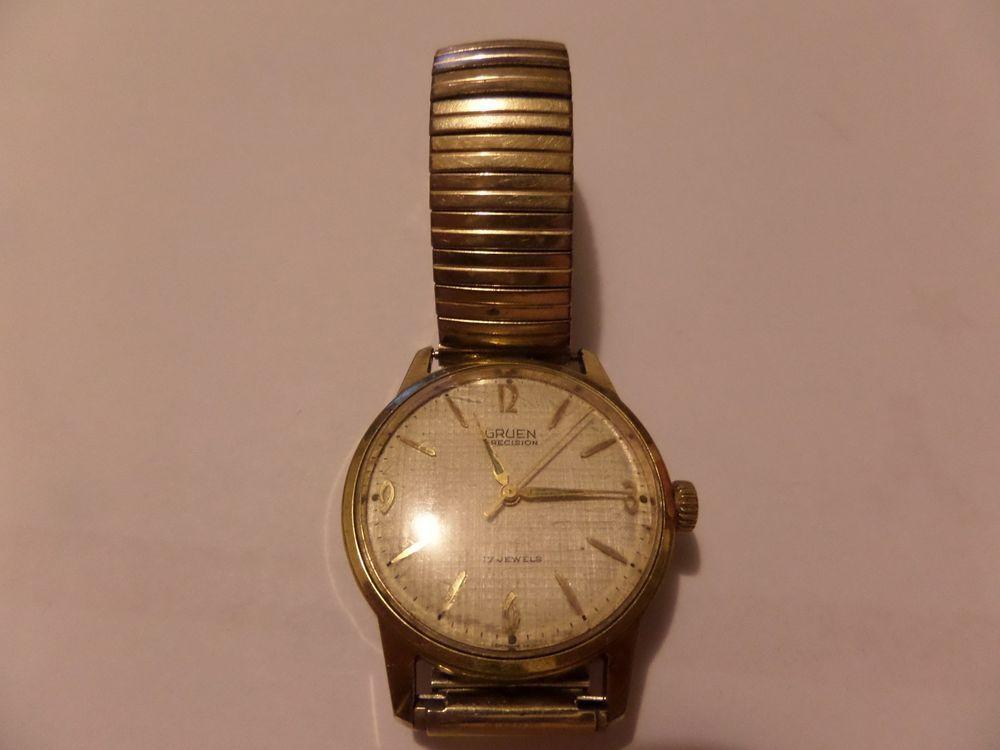 vintage gruen watch precision 17 jewels 522rss 1686 manual. Black Bedroom Furniture Sets. Home Design Ideas