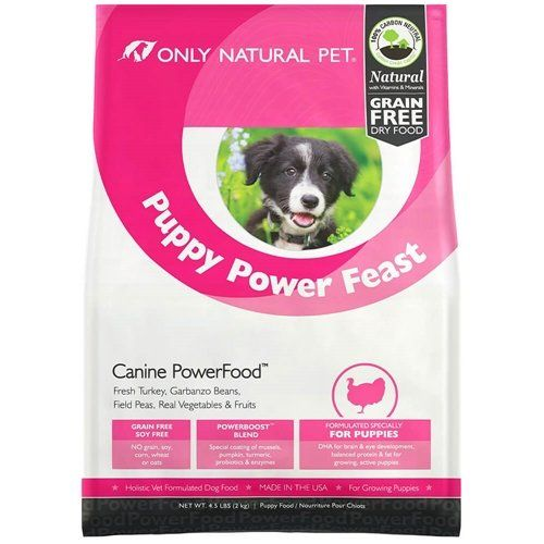 Only Natural Pet Puppy Power Feast 45 Lb Bag Click Image To