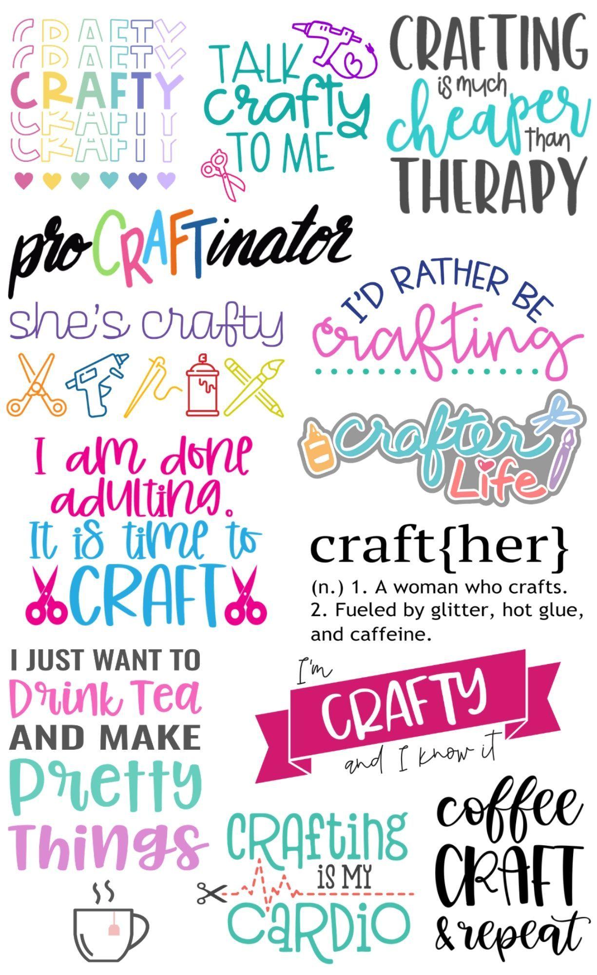 FREE Craft SVG Files
