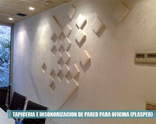Tapicer a e insonorizaci n de pared para oficinas bas3 - Insonorizacion de paredes ...