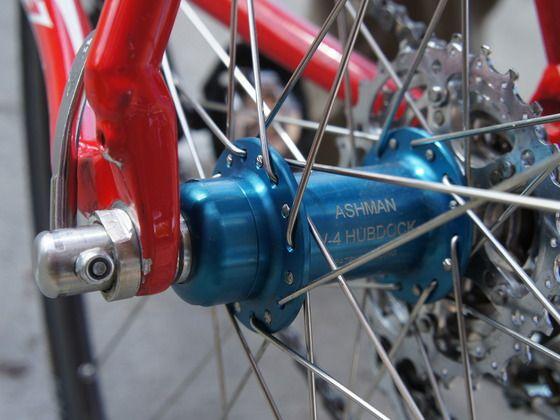 Hubdock Bicycle Quick Release Rear Wheel By Leonard Ashman Via