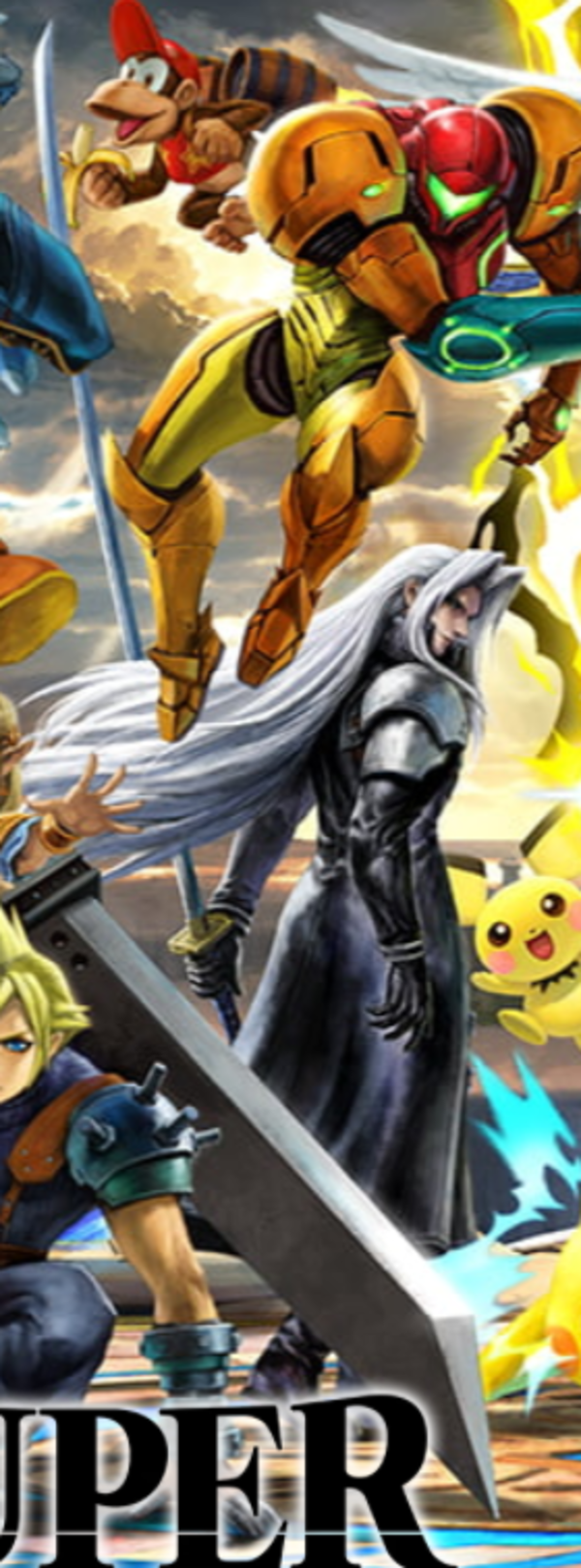 Sephiroth Alternate Colors Skins Click On Image To Enlarge Super Smash Brothers Ultimate Super Smash Brothers Sephiroth Smash Brothers