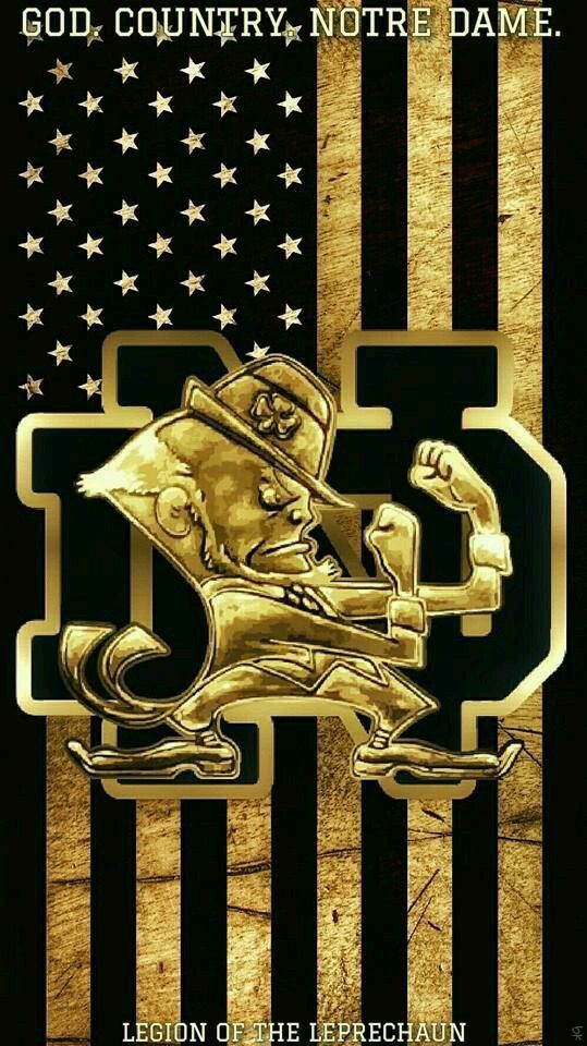 Pin by connie marshall on go nd notre dame football - Notre dame football wallpaper ...