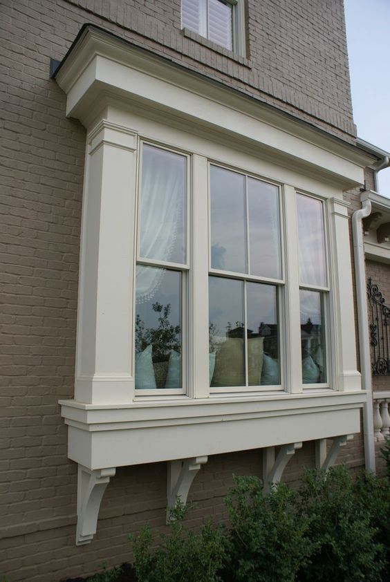 related image for the home pinterest home outside design Window Bump Out House Exterior Pinterest Window, Bay Windows And Outside  Window Designs