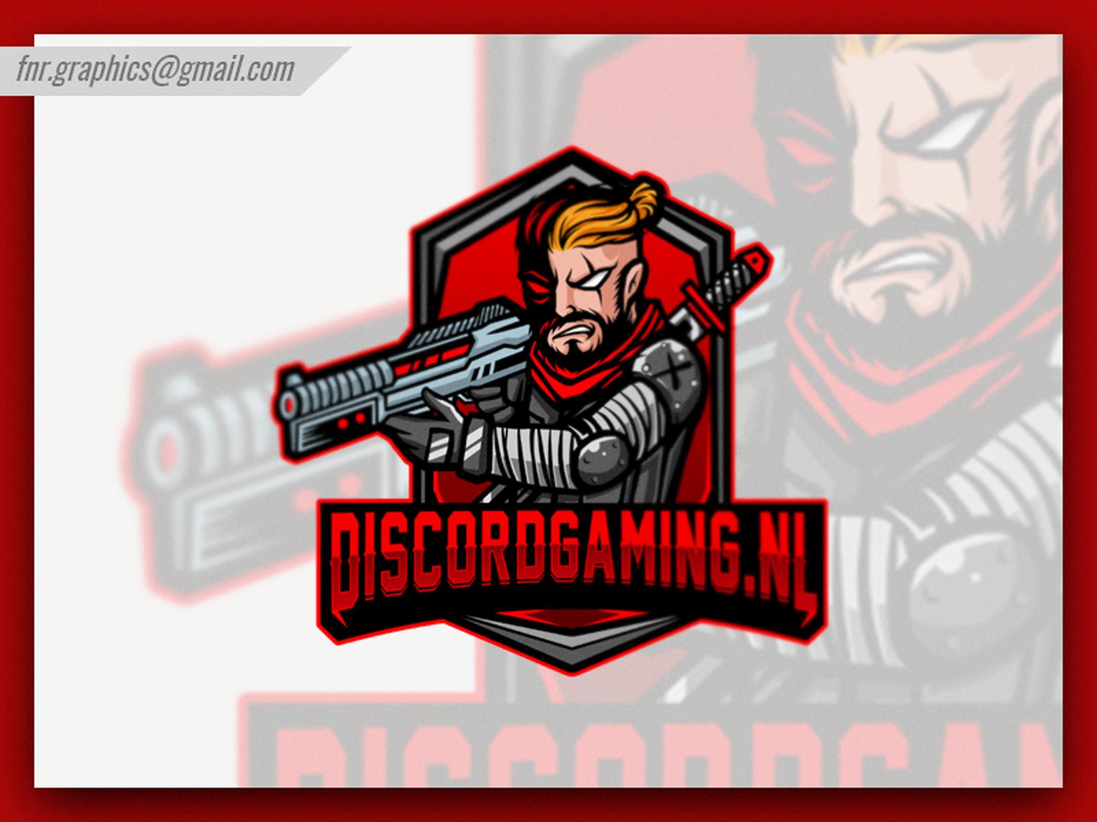 Discord Gaming Esport Logo Discord Game Mascot Ninja Art