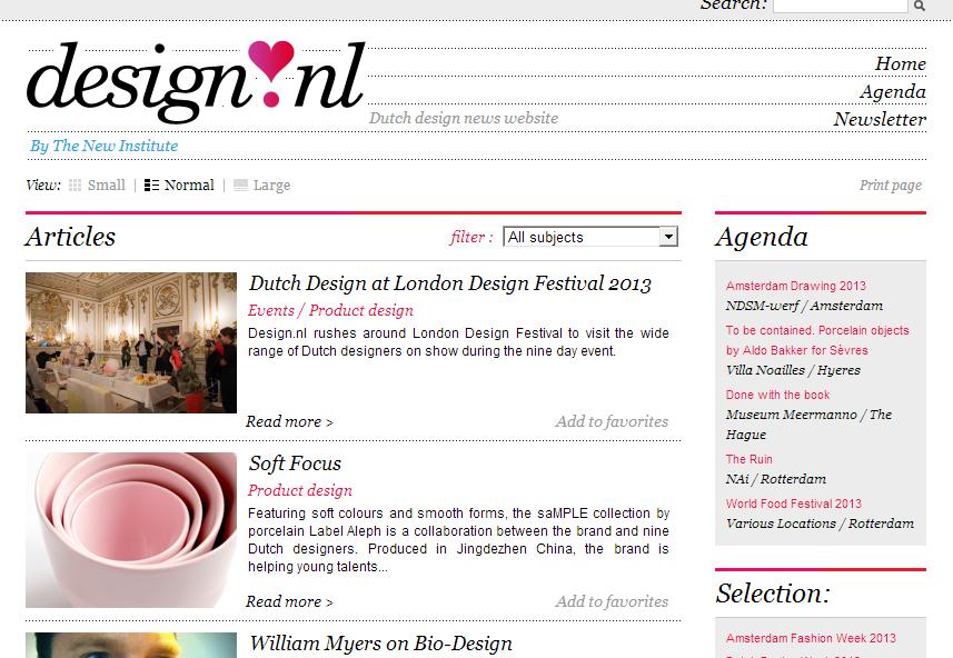 ja kan hier allemaal leuke dingen vinden http://www.design.nl/#