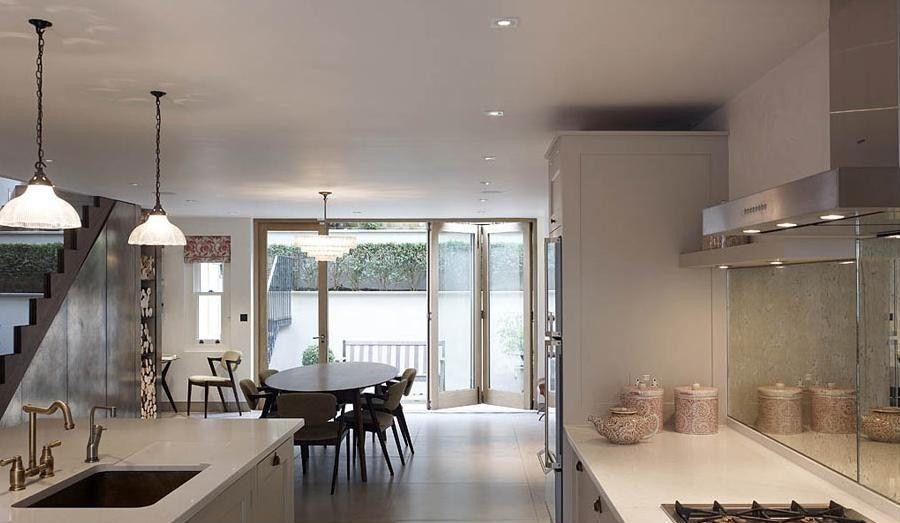 Luxury House Kitchen Holland Park Londons Best Interior Design