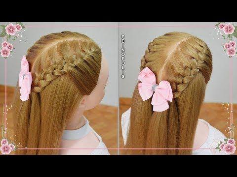 Semirecogidos Con Trenzas Para Ninas Peinados Faciles Y Rapidos Youtube Peinados Faciles Y Rapidos Trenzas De Ninas Peinados Faciles