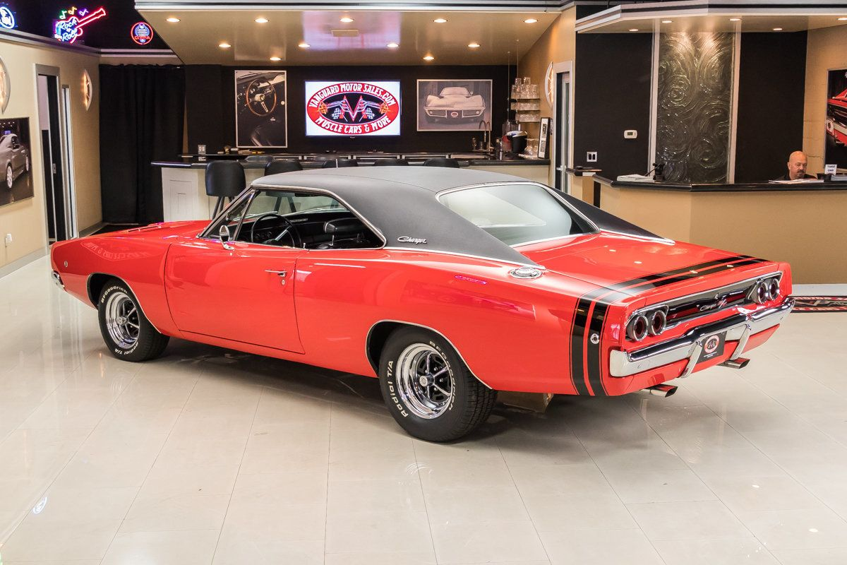 1968 Dodge Charger | Vanguard Motor Sales | 3-Dodge | Pinterest ...
