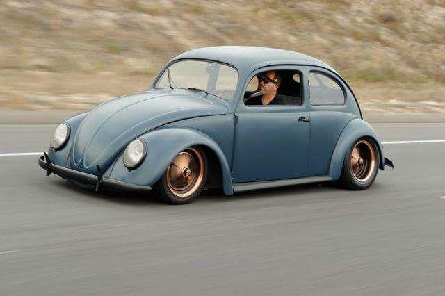Fusqueta Bagaça Volkswagen Beetle Bug Hot Vw Modified Cars Beetles