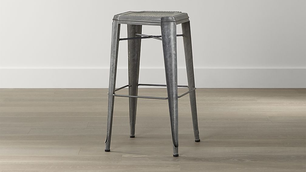 Lyle Backless Bar Stool Crate And Barrel 199 00