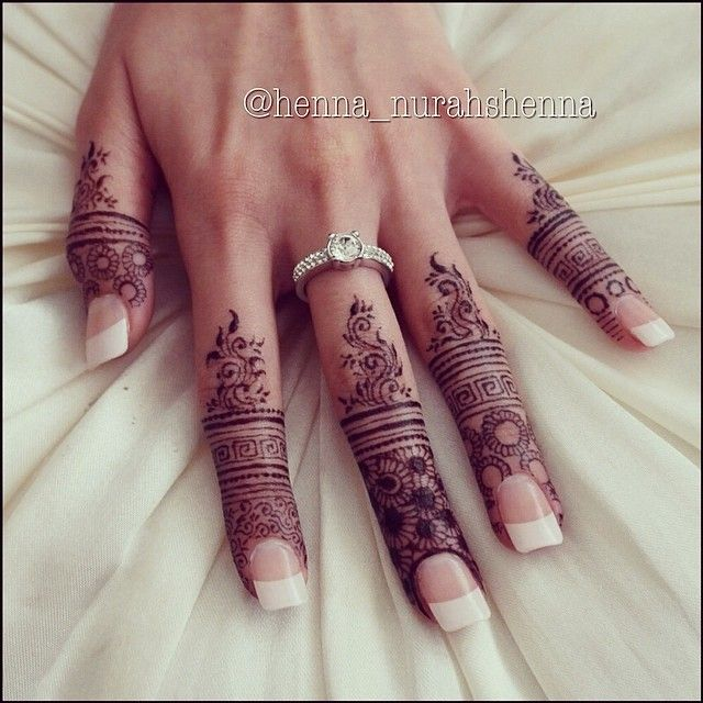 Henna Hand Tatto Temporary