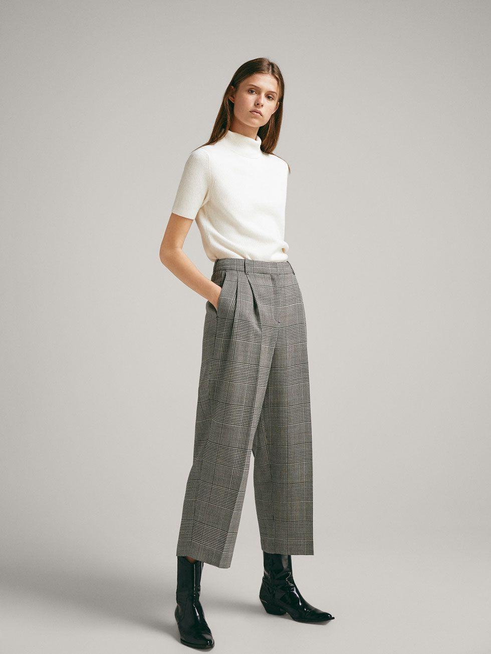 61c46eb907e Trousers - COLLECTION - WOMEN - Massimo Dutti - Republic of Ireland ...